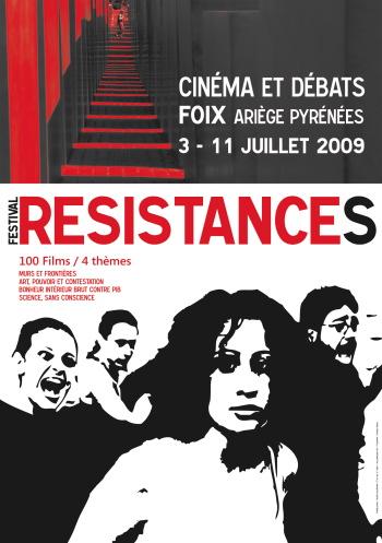 Affiche Festival Résistances 2009