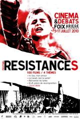 Affiche Festival résistances 2010